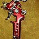 Air Spray Gun - Mini Gravity Feed - 1.4mm HVLP - HD