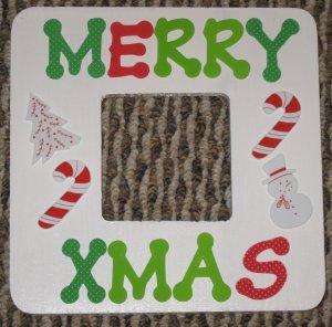 Merry Xmas Frame