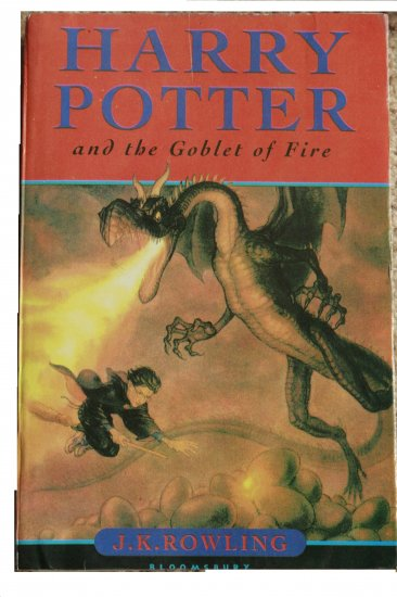 Harry Potter and the Goblet of Fire UK edition