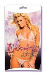 ENCHANTRESS BRA & G STRING WHITE