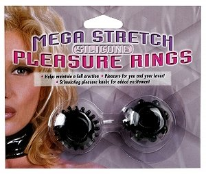MEGA STRETCH RING- Set 2 - BLACK