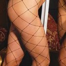 Sexy Lycra Big Diamond Net Body Stocking