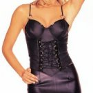 Leather Look Bustier