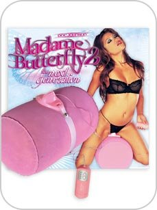 Madame Butterfly Pillow Clit Stimulator