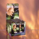 1 Pair of Glow in the Dark Erotic Dice