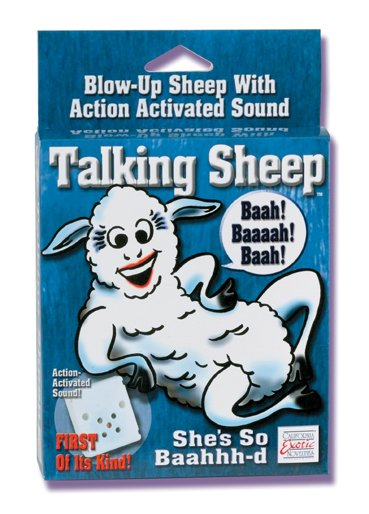Blow-Up Inflatable Talking Sheep.