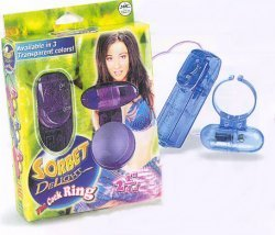 Sorbet Delight Vibrating Cock Ring