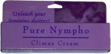 Pure nympho climax cream