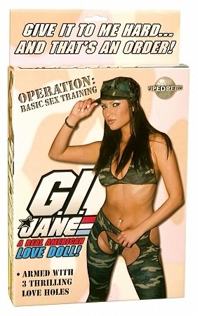 G.I. Jane Love Doll