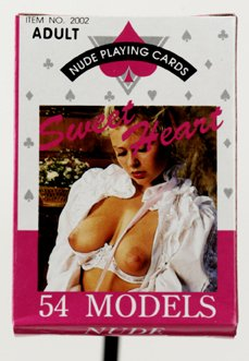 Nude Female Playing Cards