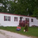 3 bedroom 2 bath Manufactured home on 1 acre of land