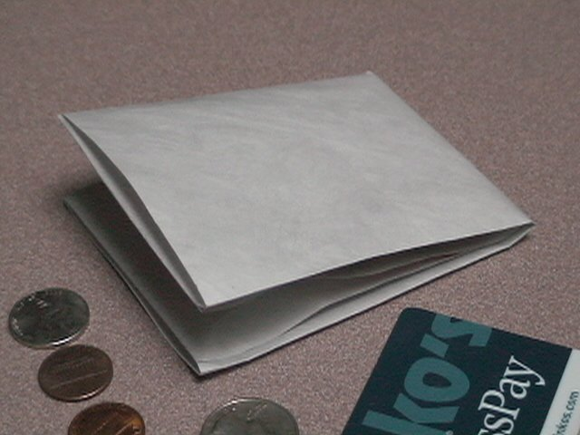 Ultra Thin Billfold Wallet