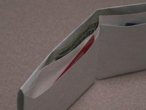 Ultra Thin Billfold Wallet (25-pack)