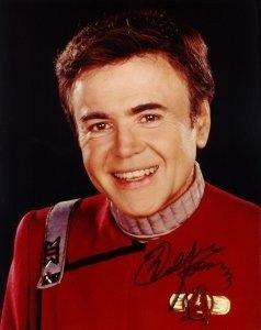 Signed STAR TREK Photo of Mr Chekov