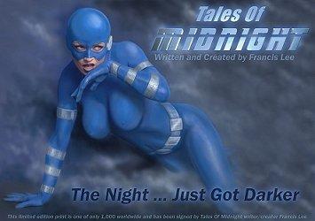 Ltd Edition TALES OF MIDNIGHT Print  DESIGN #1
