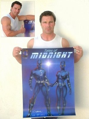 Autographed TALES OF MIDNIGHT Poster