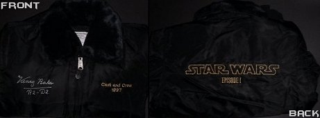 Autographed STAR WARS Cast and Crew Member Jacket