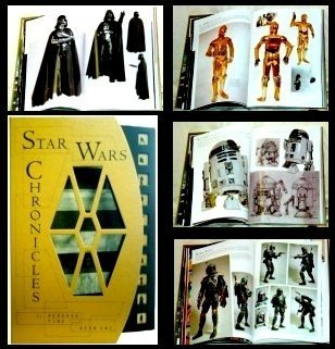 Autographed STAR WARS Chronicles Book