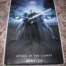 STAR WARS Bus Shelter Poster COUNT DOOKU