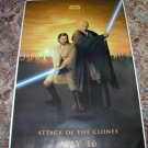 STAR WARS Bus Shelter Poster OBI WAN  and MACE WINDU