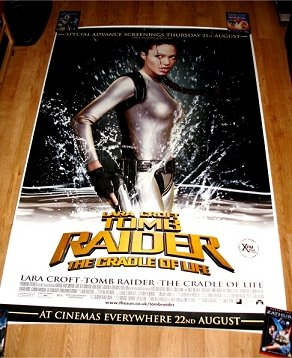 TOMB RAIDER Bus Shelter Poster