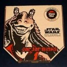 MINT CONDITION Star Wars Pizza Hut JAR JAR BINKS pizza box. Unused
