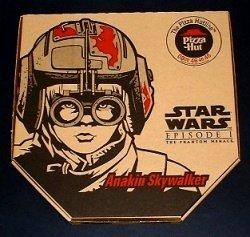 STAR WARS Pizza Hut ANAKIN pizza box MINT CONDITION