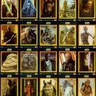 STAR WARS KFC Trading Cards. United Kingdom 20 card set.