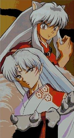 Inuyasha And Sesshomaru Anime Cross Stitch Pattern Pdf