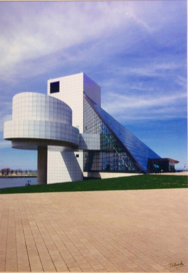 Rock and Roll Hall of Fame- Cleveland