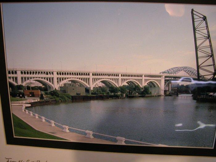Cuyahoga River & Bridge