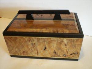 Wood inlay Jewelry box