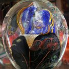 art glass paper weight