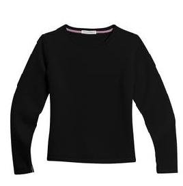 Ladies Sueded Finish Crewneck Sweatshirt