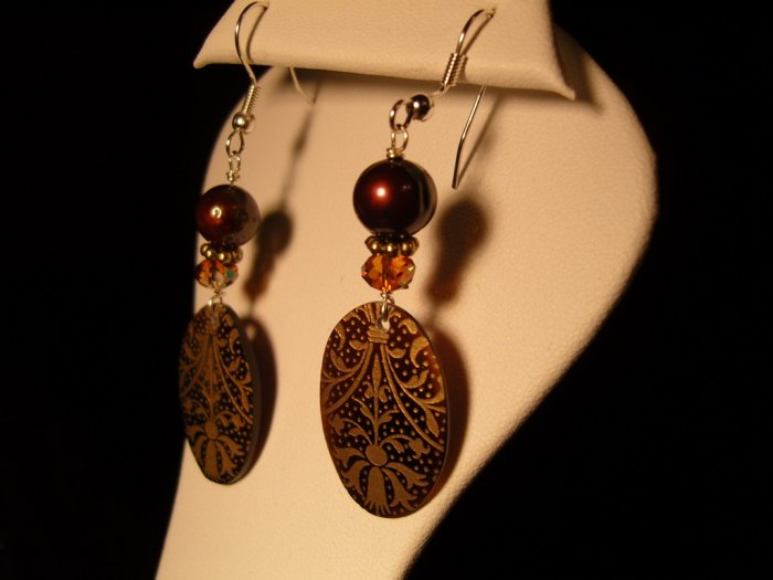 Feast of Pearls earrings