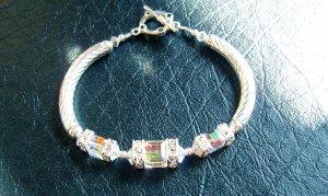 Glamour Girl Tube Bracelet