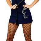 4 Piece Police Uniform Costume Dress