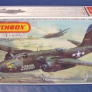 Matchbox model airplane kit vintage 1983 1/72nd scale Douglas Boston IV Havoca 20G Green Hornet