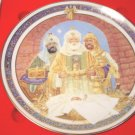 1989 We Three Kings Royal Windsor Christmas plate 8th edition Jack Woodson, box