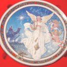 Royal Windsor 1990 Adeste Fideles Christmas angel plate porcelain china Jack Woodson, box