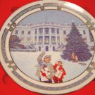 1992 Royal Windsor Christmas at the White House plate, Landmarks of America, box