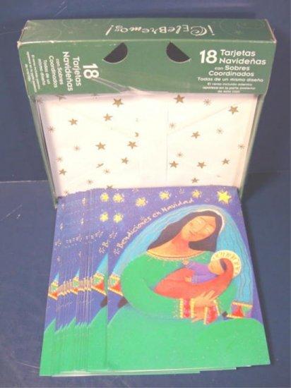Spanish Christmas greeting cards Bendiciones En Navidad 18 boxed holiday card Paper Magic Group