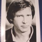 Hans Solo photo Harrison Ford Star Wars black white glossy photograph 8 x 10 1980s 1990s