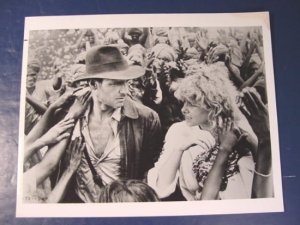 Harrison Ford Kate Capshaw TD-1808 Temple of Doom Indiana Jones photograph black white photo 1908s