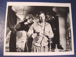 Indiana Jones Harrison Ford Temple of Doom IJ-TD-5651 black white photograph 8 x 10 1980s photo