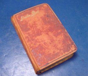 Antique Swedish Psalm Book Bible 1884 Den Svenska Psalm-Boken leather cover gold gilt edges