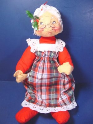 Santa Claus Annalee Mobilitee Dolls vintage 1969 Christmas doll ...