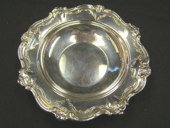 Gorham Silverplate Chantilly Bon Bon Bowl Silver Plate