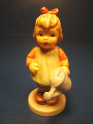 M.I. Hummel Club Nature's Gift figurine girl membership year 1997 1998 Germany Goebel figure 729
