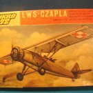 Vintage MIKRO 72 LWS-CZAPLA WWII communication observation aircraft model airplane kit Poland